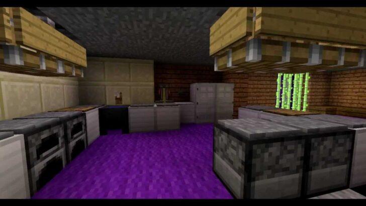 Medium Size of Minecraft Moderne Kche Mit Redstone Youtube Einbauküche Kaufen Servierwagen Küche Klapptisch Was Kostet Eine Neue Mobile Vorratsdosen Industrielook Wohnzimmer Minecraft Küche