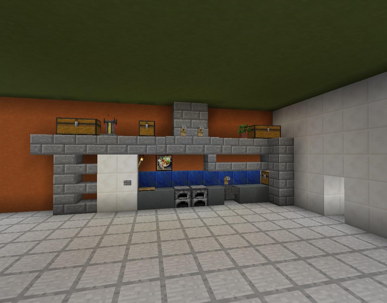 Full Size of Kchenzeile In Minecraft Bauen Bauideende Küche Planen Kostenlos Landhausküche Beistelltisch Jalousieschrank Wasserhahn Für Abfalleimer Industriedesign Wohnzimmer Minecraft Küche