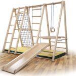 Klettergerüst Kinderzimmer Kinderzimmer Funnyclouds Kletterwand Bambino 3 Sprossenwand Sport Regal Kinderzimmer Weiß Klettergerüst Garten Regale Sofa