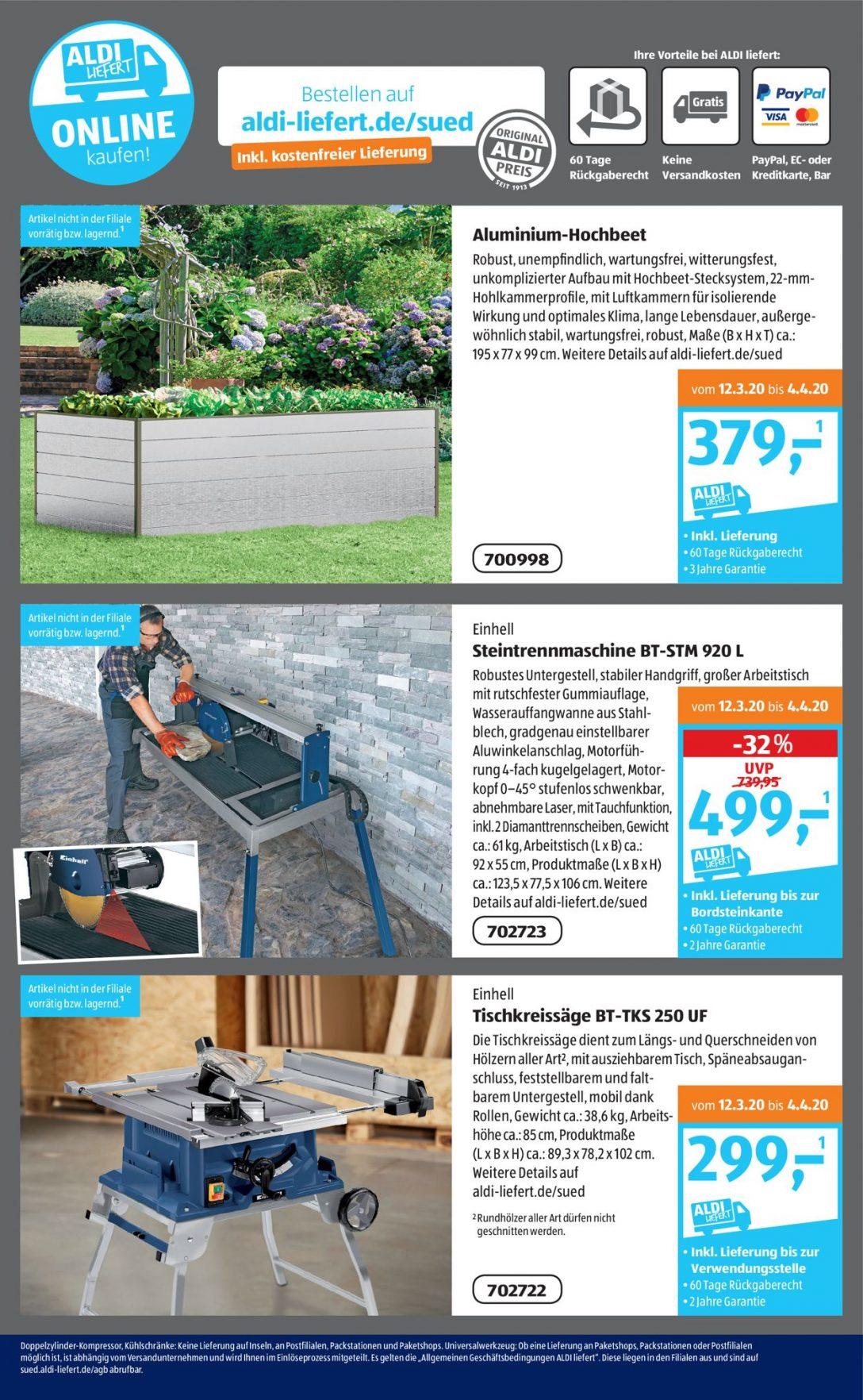 Large Size of Hochbeet Aldi Sd Aktueller Prospekt 3003 04042020 18 Jedewoche Garten Relaxsessel Wohnzimmer Hochbeet Aldi