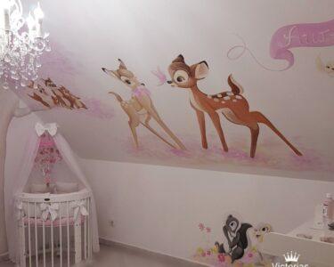 Wandbild Kinderzimmer Kinderzimmer Bambi Wandbild Wandmalerei Im Kinderzimmer Murals Regal Wohnzimmer Sofa Weiß Wandbilder Regale Schlafzimmer