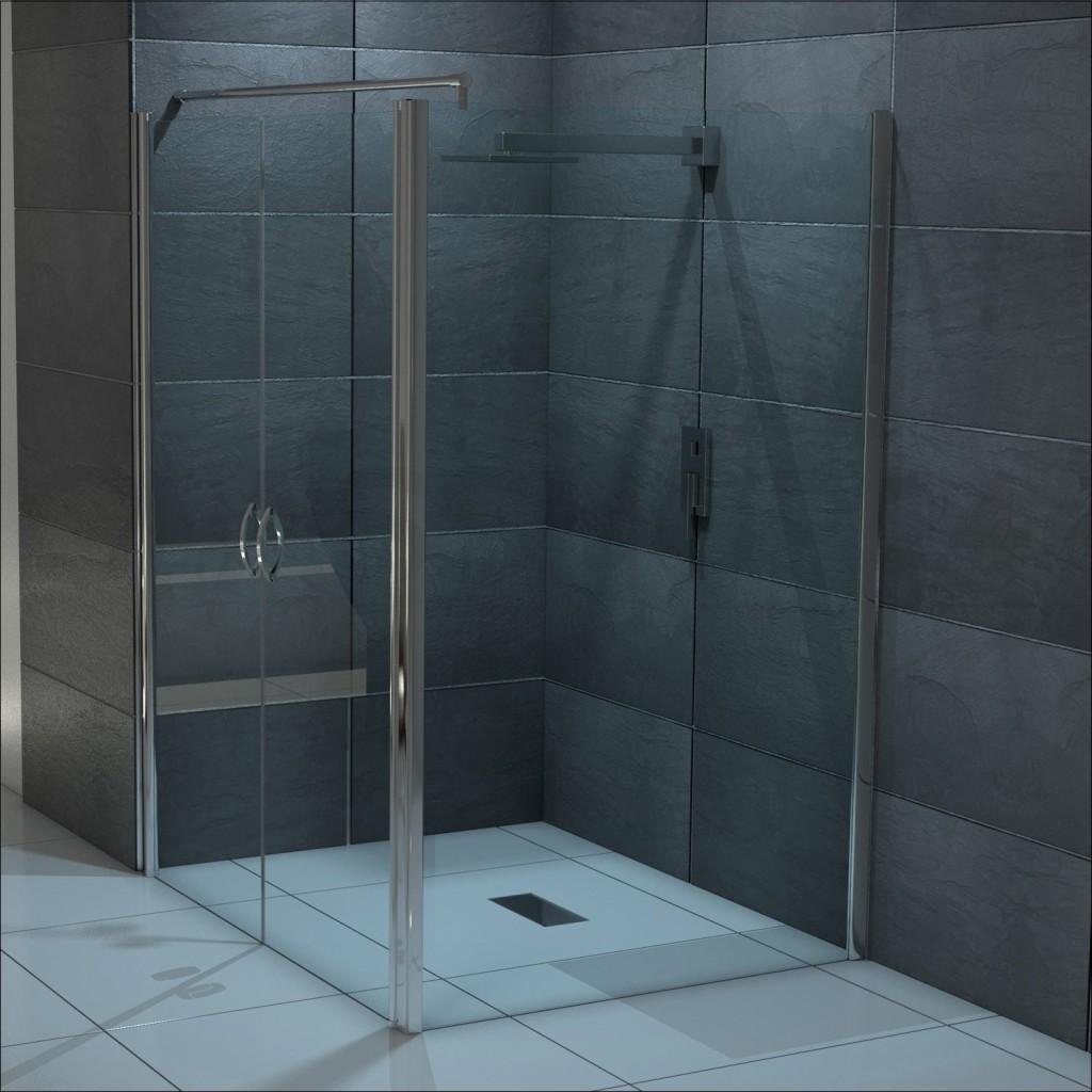 Full Size of Glaswand Dusche Test Testsieger Preisvergleich Siphon Ebenerdige Glastrennwand Fliesen Für Bodengleiche Begehbare Duschen Komplett Set 80x80 Ohne Tür Dusche Pendeltür Dusche