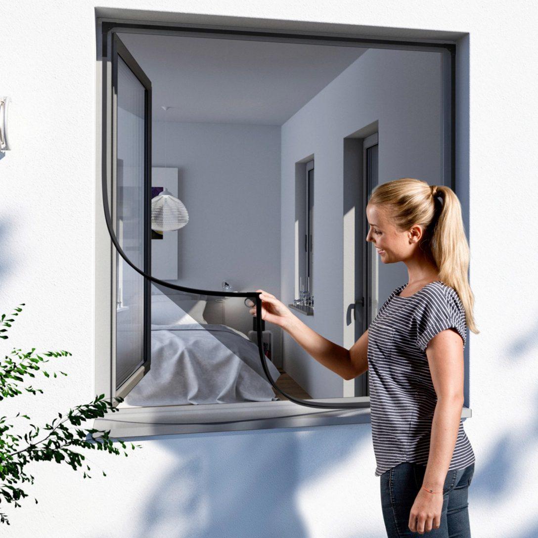 Large Size of Fliegengitter Magnet Windhager Mit Wei 100 Cm 120 Kaufen Bei Obi Fenster Magnettafel Küche Für Maßanfertigung Wohnzimmer Fliegengitter Magnet