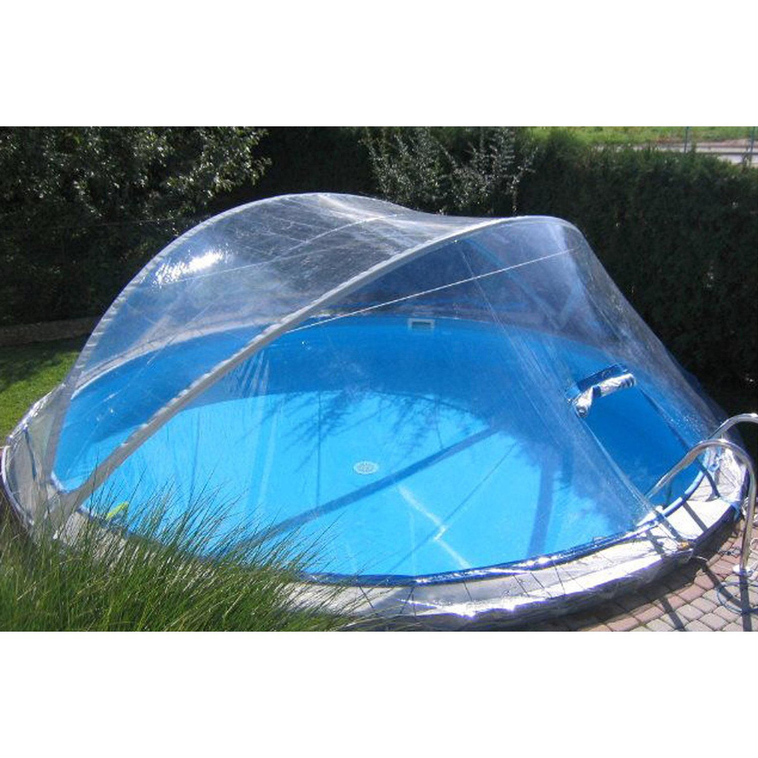 Full Size of Summer Fun Pool Berdachung Cabrio Dome Fr Ovalbecken 320 Cm X Garten Guenstig Kaufen Mini Mobile Küche Swimmingpool Whirlpool Schwimmingpool Für Den Wohnzimmer Obi Pool