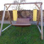 Schaukel Erwachsene Hoch Wohnung Indoor Holz Outdoor Balkon 150 Kg Metall Garten Gartenschaukel Schaukelstuhl Kinderschaukel Für Wohnzimmer Schaukel Erwachsene