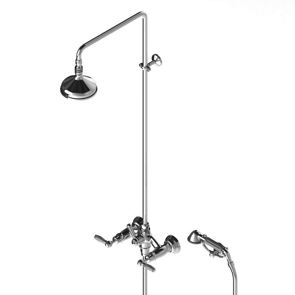 Full Size of Duschsäulen Wandmontiertes Duschsystem Klassisch Mit Handbrause Dusche Duschsäulen