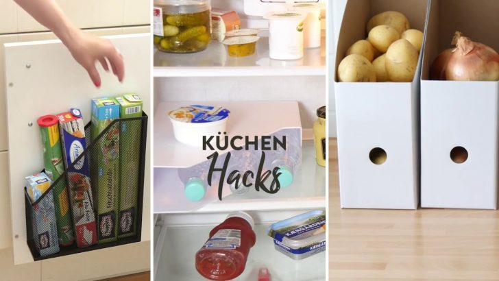 Medium Size of Kchen Hacks Kche Aufrumen Leicht Gemacht Westwing Tipps Bodenbelag Küche Rolladenschrank Ohne Hängeschränke Schubladeneinsatz Kinder Spielküche Holzküche Wohnzimmer Ikea Hacks Küche