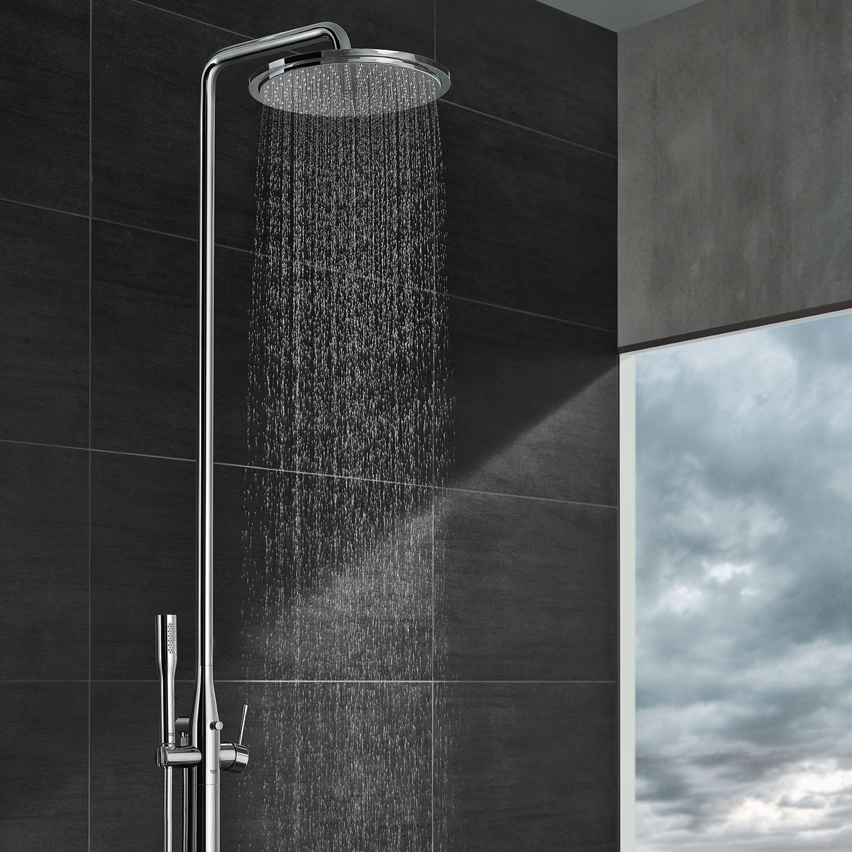 Full Size of Bodenstehendes Duschsystem Modern Mit Handbrause Duschsäulen Dusche Duschsäulen