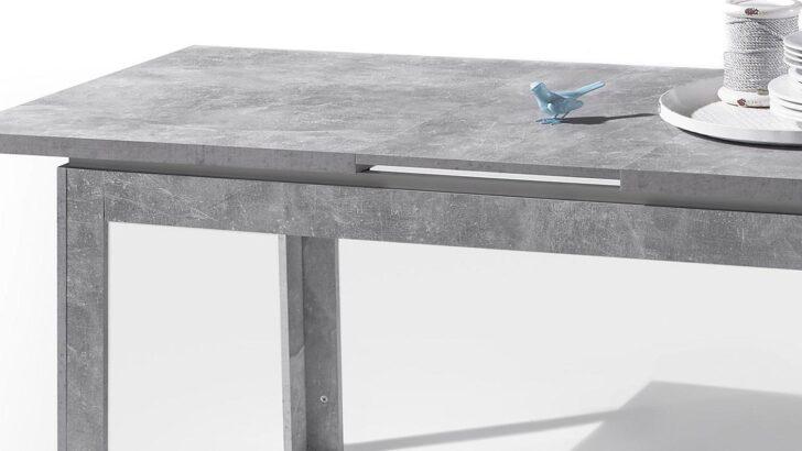 Medium Size of Esstisch Beton Stone Tisch Optik Grau Und Wei Hochglanz 140 180x80 Cm Betonoptik Küche Nussbaum Holzplatte Weiß Massivholz Bad Mit Baumkante Sheesham Esstische Esstisch Beton