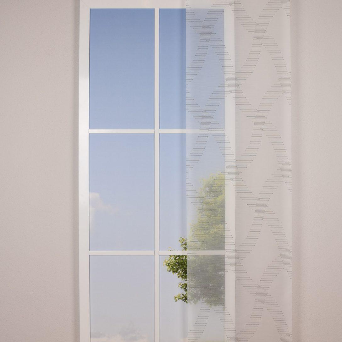 Large Size of Gardine Paneele Schiebevorhang Meterware Carrara Wei Gardinen Schlafzimmer Für Scheibengardinen Küche Fenster Wohnzimmer Die Wohnzimmer Gardine Häkeln