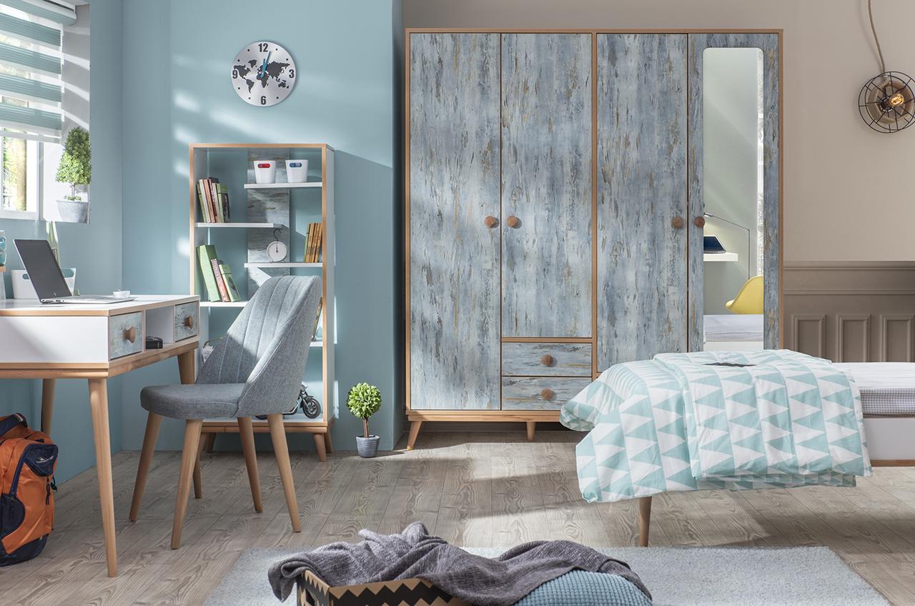 Full Size of Komplett Kinderzimmer Aquasi 1 Blau Sparset 6 Tlg Wohnzimmer Regale Komplettküche Günstige Schlafzimmer Bett 160x200 Mit Lattenrost Und Matratze Regal Kinderzimmer Komplett Kinderzimmer