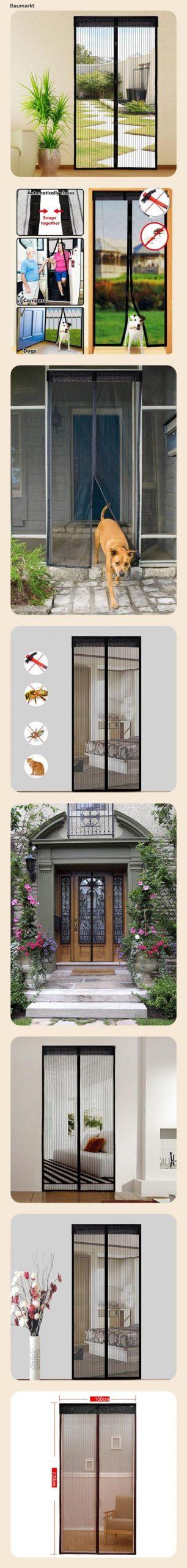 Full Size of Fliegengitter Magnet Extsud Tr Insektenschutz 100x220 Cm Fenster Für Magnettafel Küche Maßanfertigung Wohnzimmer Fliegengitter Magnet