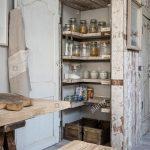 Wandverkleidung Küche Trocken Lagern Schrank Mit Eingebauten Bergung Holz Regale In Der Tresen Einrichten Schneidemaschine Ohne Hängeschränke Stengel Wohnzimmer Wandverkleidung Küche