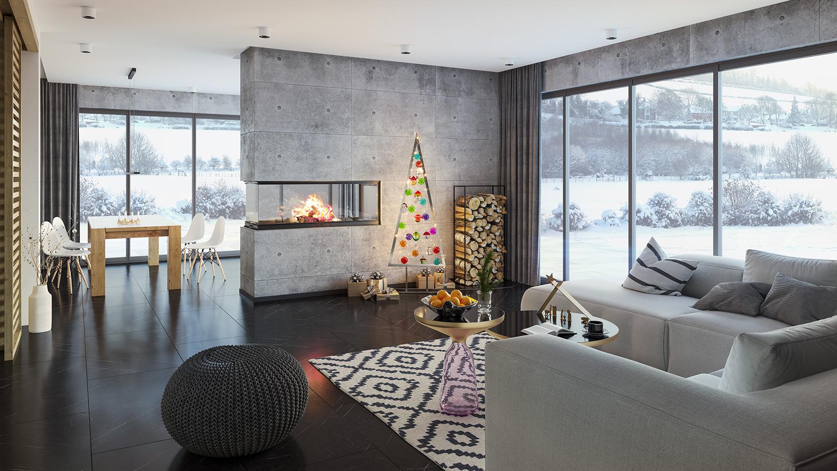 Full Size of Das Weihnachtliche Wohnzimmer Inspirationen Und Ideen Cairode Vitrine Weiß Hängeschrank Hochglanz Deckenleuchten Vinylboden Tapeten Stehlampen Tischlampe Wohnzimmer Wohnzimmer Ideen
