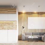 Küchentheke Wohnzimmer Küchentheke Wohnzimmerinnenraum Mit Hellen Hlzernen