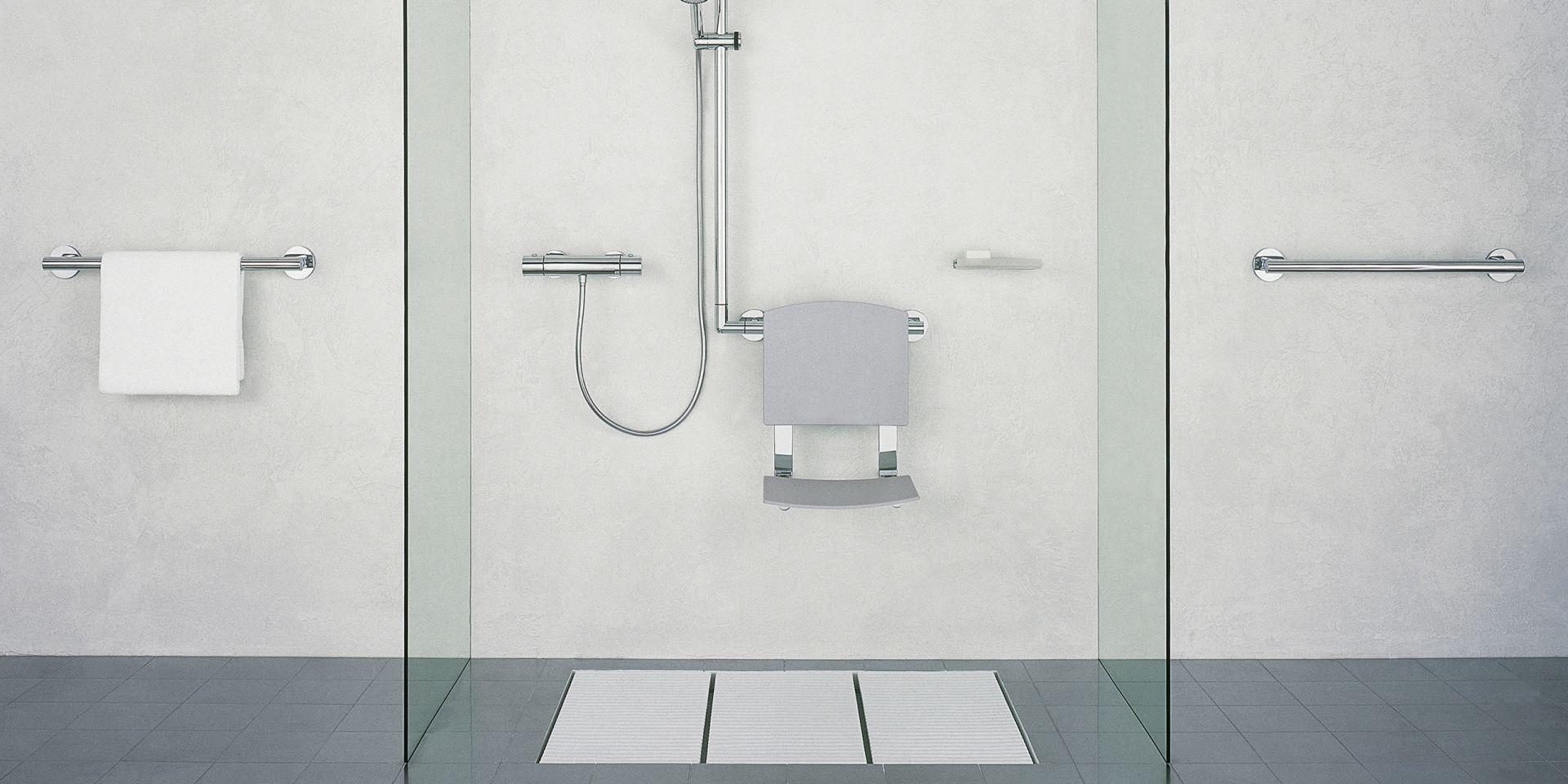 Full Size of Haltegriff Dusche Keuco Plan Care Komplettanbieter Fr Hochwertige Badausstattung Glaswand Badewanne Walk In Begehbare Fliesen Moderne Duschen Kaufen Dusche Haltegriff Dusche