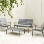 Terrassen Lounge Wohnzimmer Terrassen Lounge Garten Loungemöbel Möbel Holz Set Sofa Günstig Sessel