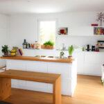 Küchentheke Wei Kchentheke Mbelwerkstatt Boos Wohnzimmer Küchentheke