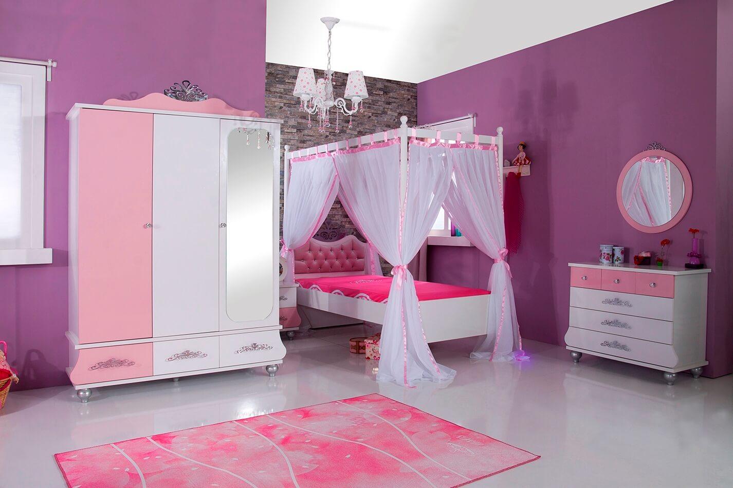 Full Size of Komplett Kinderzimmer Anastasia Rosa Mit Himmelbett 5 Teiliges Set Günstige Schlafzimmer Badezimmer Wohnzimmer Breaking Bad Komplette Serie Komplettset Bett Kinderzimmer Komplett Kinderzimmer