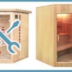 Sauna Zum Selber Bauen Aufbau Und Montage Der Relaxl Bodengleiche Dusche Nachträglich Einbauen Fenster Kosten Küche Kopfteil Bett Planen Boxspring Regale Wohnzimmer Sauna Selber Bauen