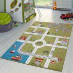 Kinderzimmer Teppiche Teppich City Hafen Spielteppich Teppichmax Regal Regale Wohnzimmer Sofa Weiß Kinderzimmer Kinderzimmer Teppiche