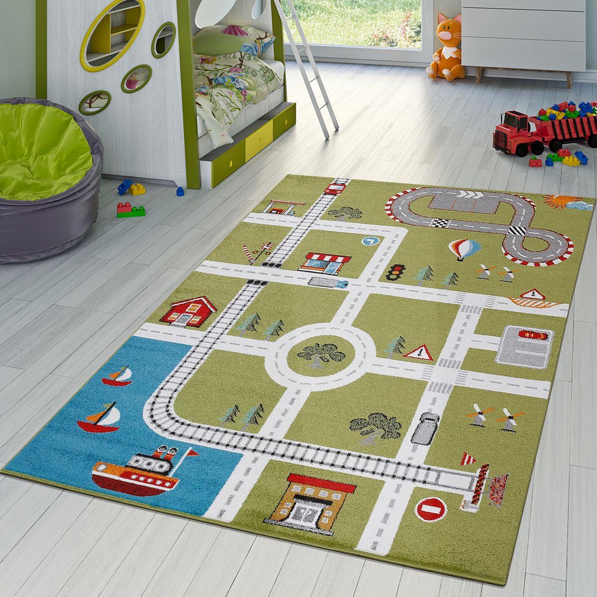 Full Size of Kinderzimmer Teppiche Teppich City Hafen Spielteppich Teppichmax Regal Regale Wohnzimmer Sofa Weiß Kinderzimmer Kinderzimmer Teppiche