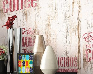 Tapete Für Küche Wohnzimmer Tapete Für Küche Papiertapete Beige Caf Aufschrift Alte Werbung Kche Nolte Boden Badezimmer Laminat Bad Bodenbelag Industriedesign Läufer Modern Folien