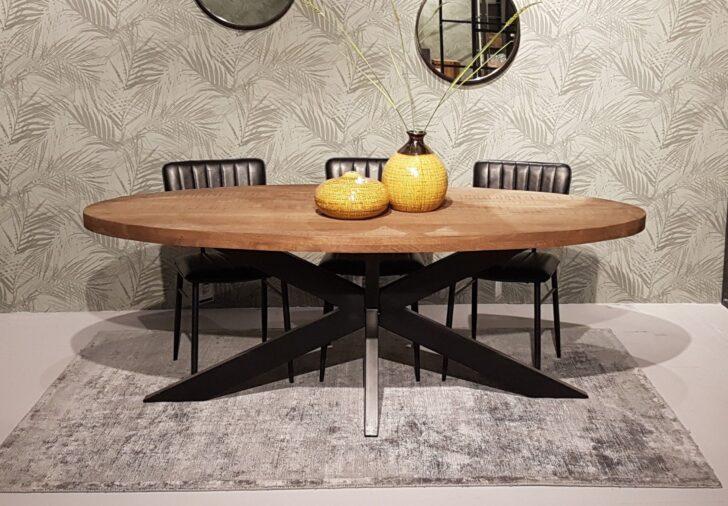 Medium Size of Esstisch Sturdy Oval 210 100 Cm Mangoholz Dinnertisch Tisch Beton Massivholz Ausziehbar Esstische Holz Runder Set Günstig Deckenlampe Nussbaum Kleiner Weiß Esstische Ovaler Esstisch