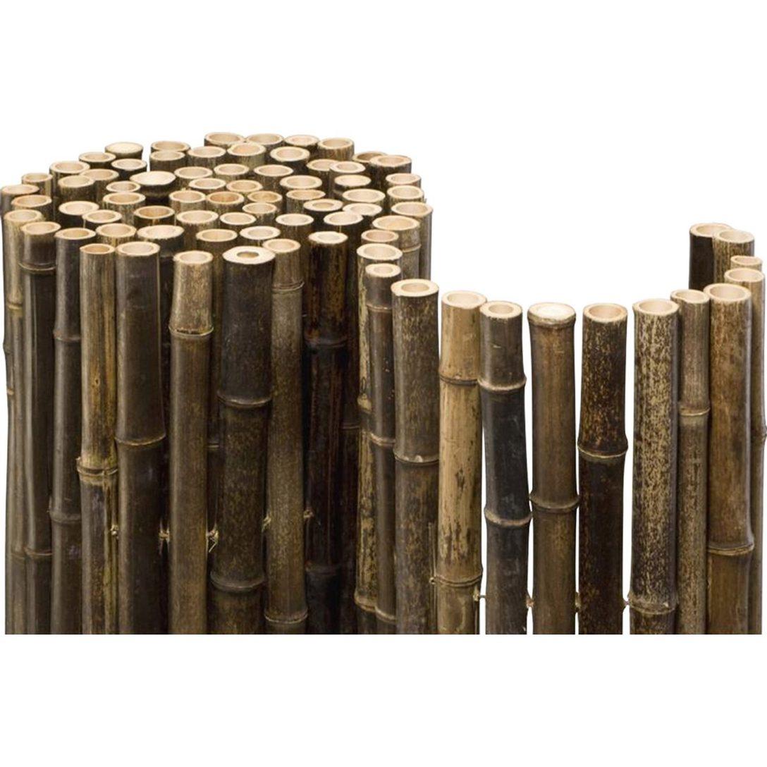 Large Size of Bambus Sichtschutz Obi Kunststoff Balkon Schweiz Bambusmatte Deluxe Black 180 Cm 250 Kaufen Bei Fenster Garten Wpc Sichtschutzfolien Für Holz Bett Wohnzimmer Bambus Sichtschutz Obi