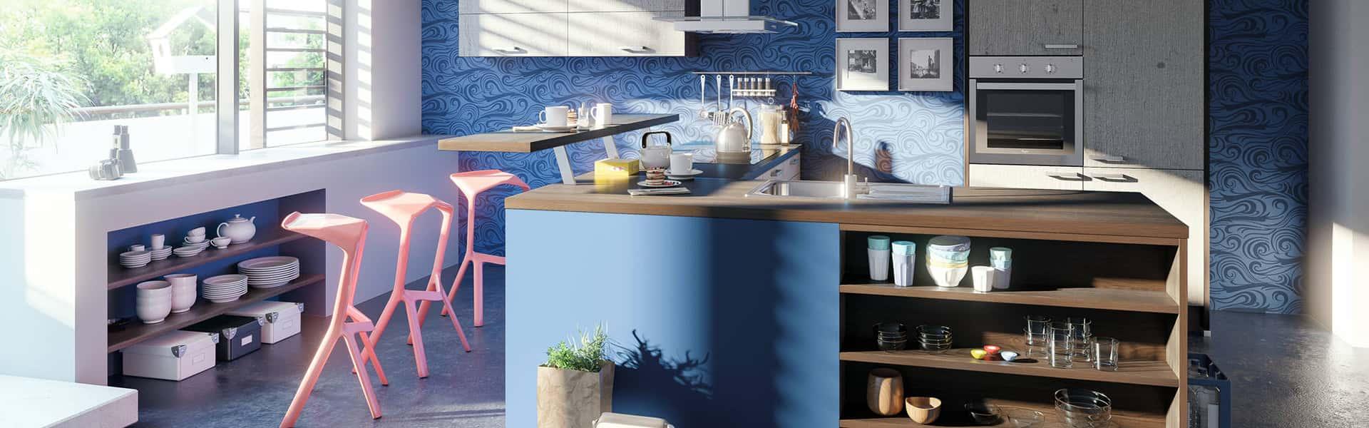 Full Size of Küchen Ideen Fr Ihre Neue Kche Roller Mbelhaus Wohnzimmer Tapeten Bad Renovieren Regal Wohnzimmer Küchen Ideen