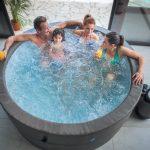 Thumbnail Size of Whirlpool Aufblasbar Aufblasbarer Jacuzzi Vita Premium Fr 6 Personen Garten Wohnzimmer Whirlpool Aufblasbar
