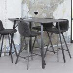 Kchenbartisch In Schwarz Grau Stahl Jetzt Bestellen Unter Https Wohnzimmer Küchenbartisch