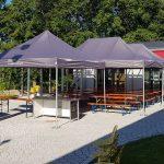 Pavillon Winterfest Wohnzimmer Stabile Partyzelte 100 Wasserdicht Tv Geprft Rukuevent Garten Pavillon