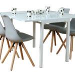 Stühle Esstisch Paket 5tlg Essgruppe Esszimmer Stuhl Sthle Glas Tisch Designer Kleine Esstische Runder Eiche Ausziehbar 120x80 Rund Großer Ausziehbarer Beton Esstische Stühle Esstisch