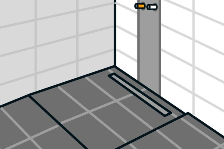 Medium Size of Dusche Bodengleich Bodengleiche Einbauen Linienentwsserung Anleitung Von Unterputz Armatur Siphon Walk In Schulte Duschen Werksverkauf Barrierefreie Bluetooth Dusche Dusche Bodengleich