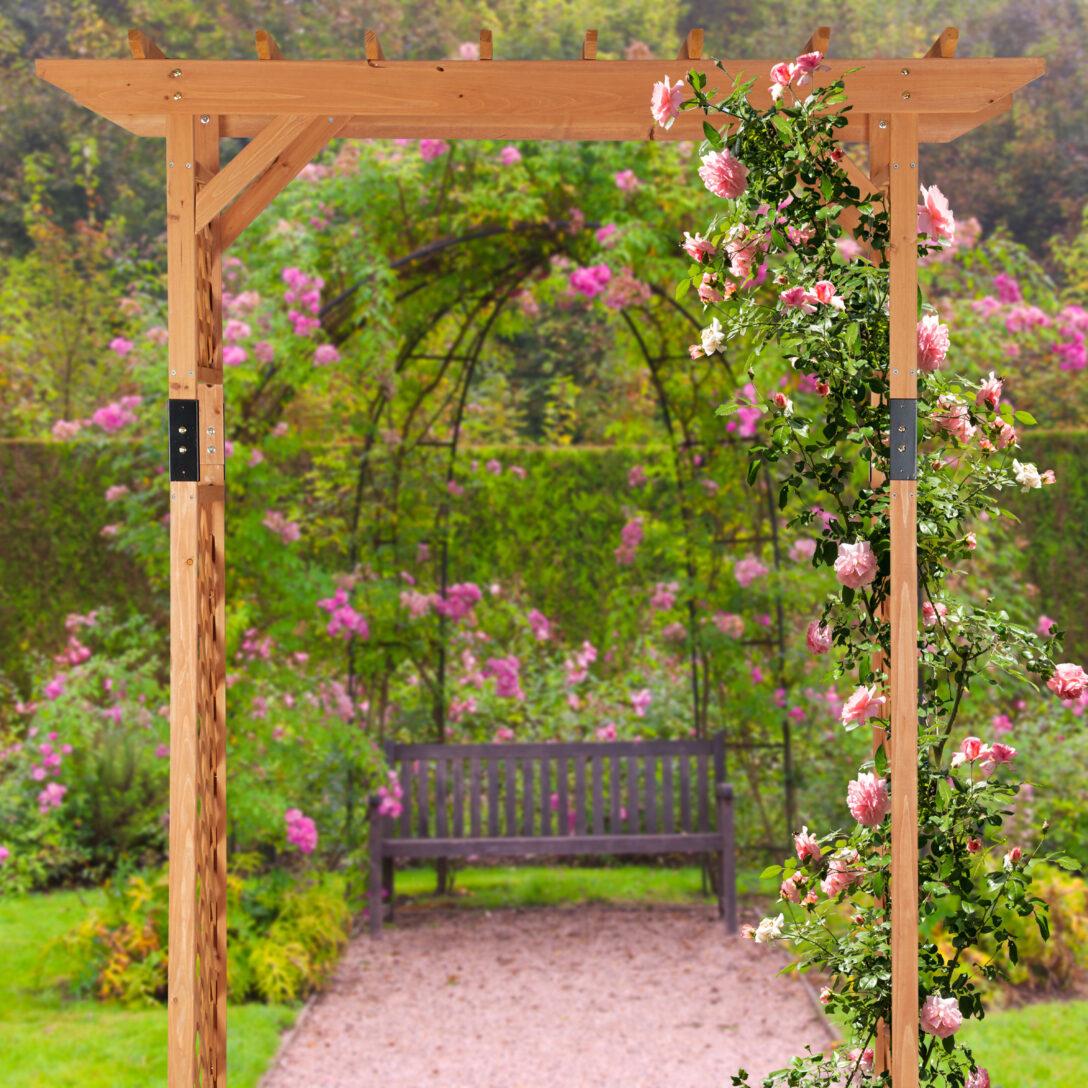 Large Size of Pergola Holz Rosenbogen Xxl Gartenbogen Garden Arch Spalier 2 M Holzfliesen Bad Esstisch Massiv Betten Aus Holzhaus Kind Garten Massivholzküche Holzregal Wohnzimmer Pergola Holz