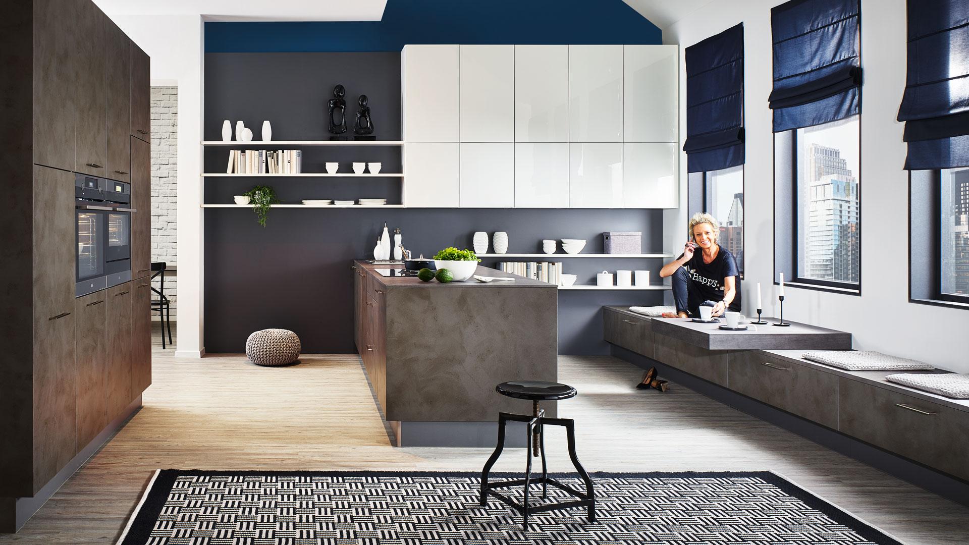 Full Size of Moderne Kche Küchen Regal Wohnzimmer Küchen