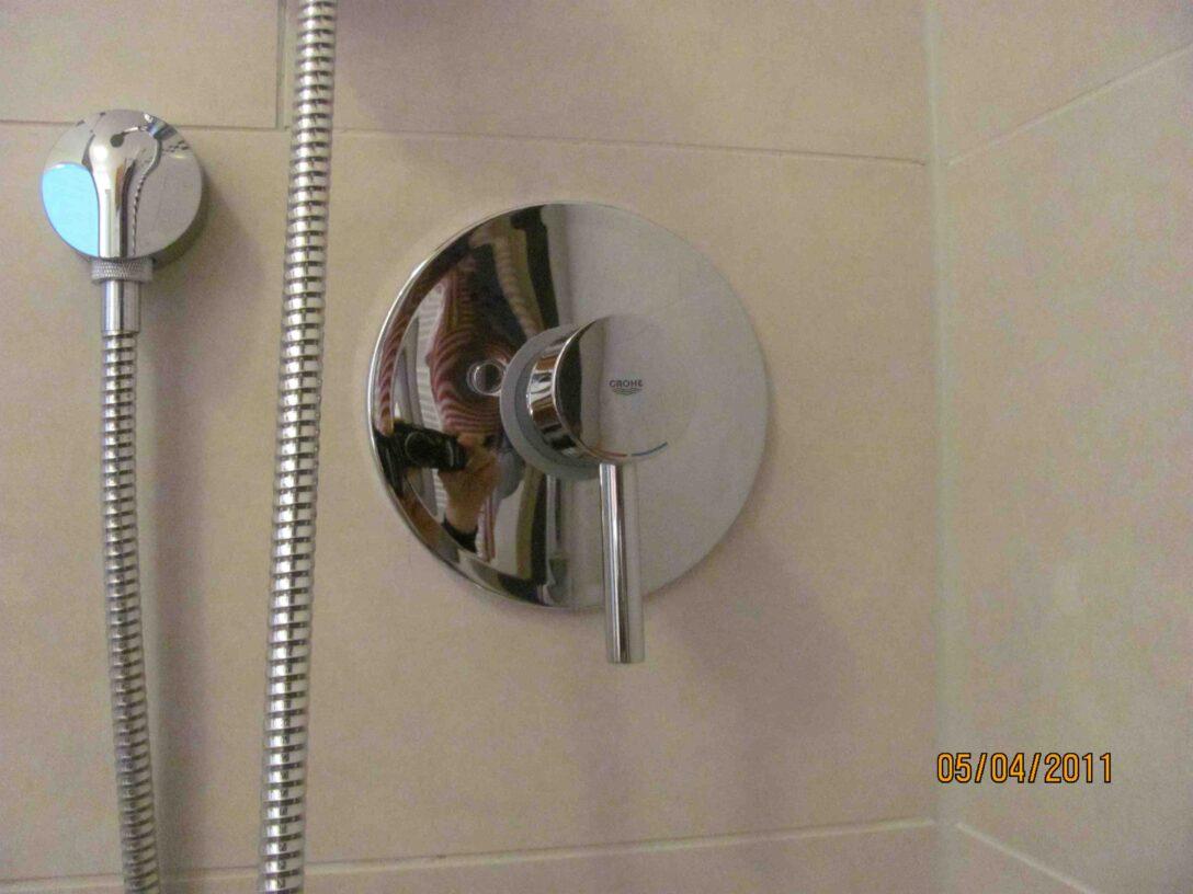 Large Size of Grohe Up Duscharmatur Rckfluverhinderer Haustechnikdialog Schiebetür Dusche Hüppe Bodengleiche Duschen Einbauen Kaufen Thermostat Walkin Eckeinstieg Dusche Grohe Thermostat Dusche