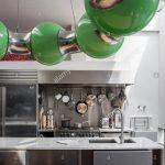 Edelstahl Küche Kchen In Der Modernen Kche Mit Grnes Licht Von Andy Granitplatten Anthrazit Lüftungsgitter Einzelschränke Kaufen Günstig Abfalleimer Wohnzimmer Edelstahl Küche