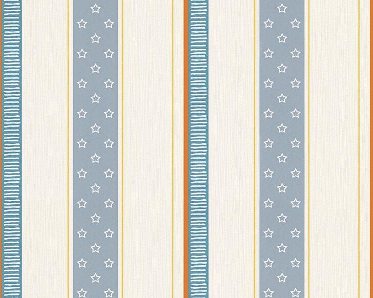 Medium Size of Esprit Kids Tapete Streifen Blau Creme 30294 2 Fliesen Für Dusche Such Frau Fürs Bett Kopfteile Betten Spiegelschrank Bad Gardinen Schlafzimmer Regal Kinderzimmer Tapeten Für Kinderzimmer