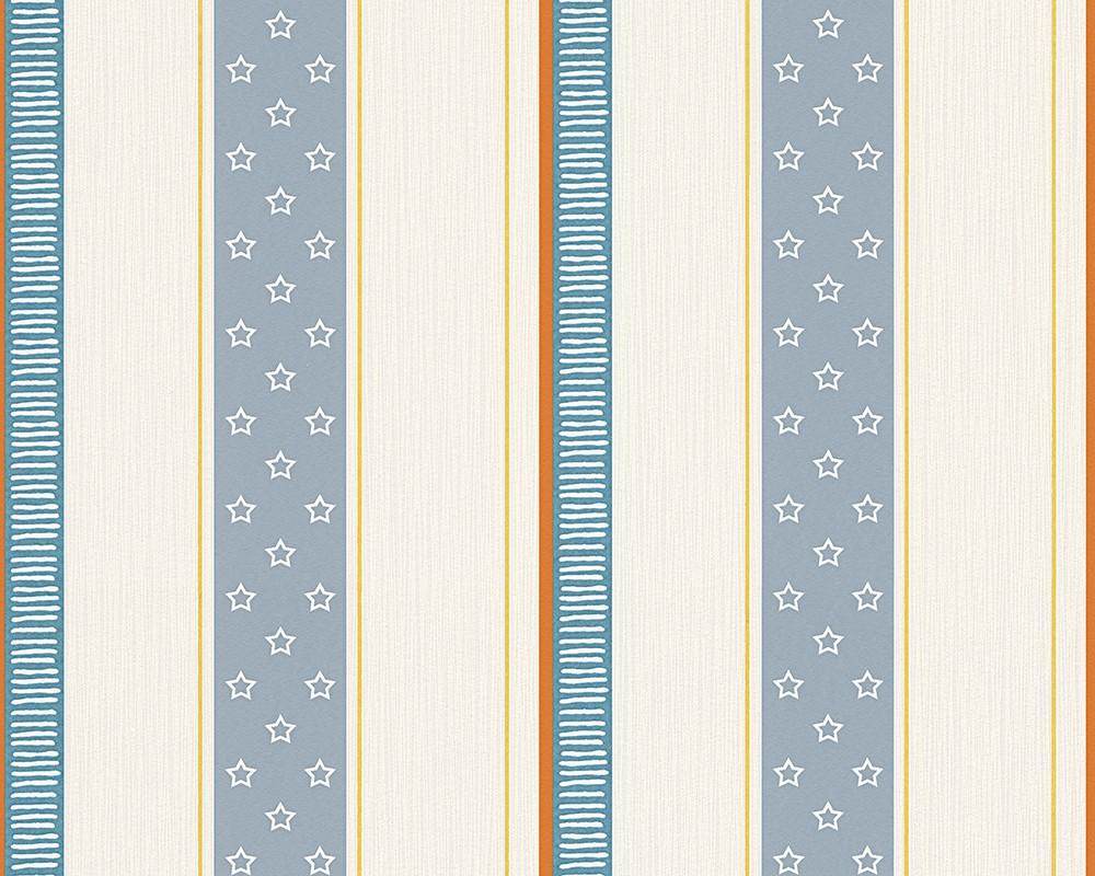 Full Size of Esprit Kids Tapete Streifen Blau Creme 30294 2 Fliesen Für Dusche Such Frau Fürs Bett Kopfteile Betten Spiegelschrank Bad Gardinen Schlafzimmer Regal Kinderzimmer Tapeten Für Kinderzimmer