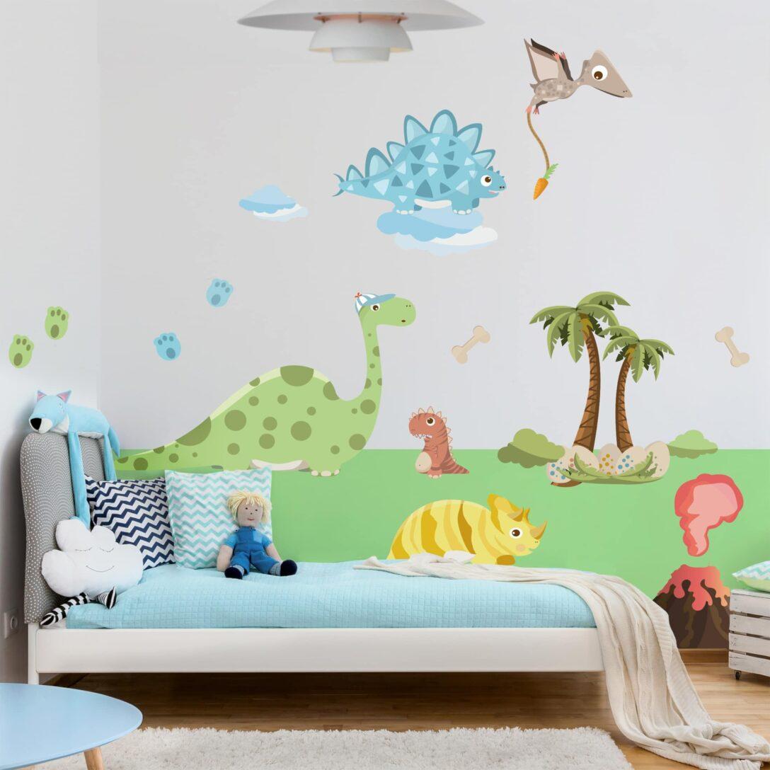 Large Size of Wandsticker Kinderzimmer Junge Wandtattoo Dinosaurier Set In 2020 Regal Regale Sofa Weiß Küche Kinderzimmer Wandsticker Kinderzimmer Junge