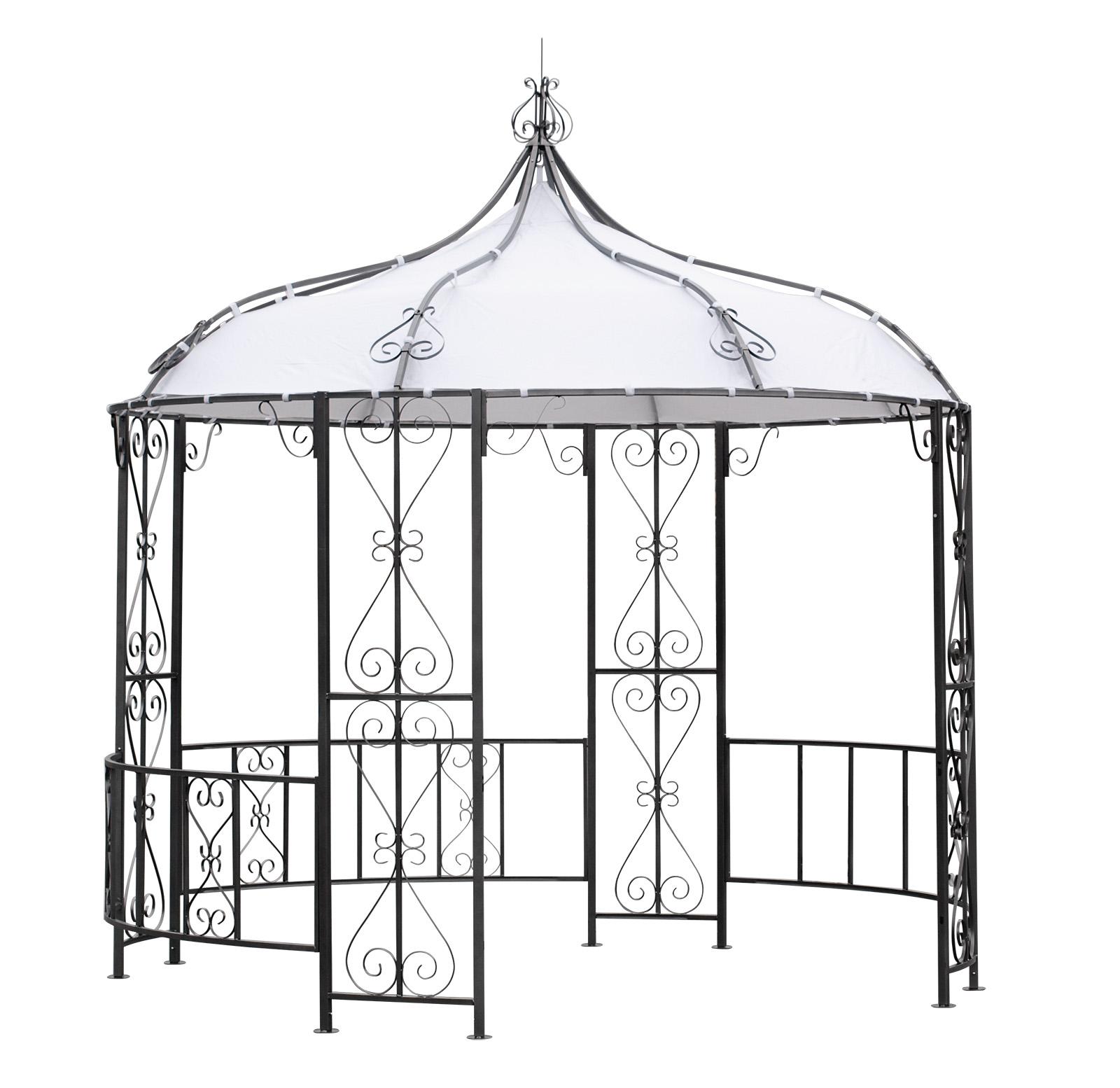 Full Size of Pavillon Rund Eisen Ersatzdach 3 5m Holz Selber Bauen 6m Beige Metall 200 Cm 3m Gebraucht 4m Burma 300cm Rundes Sofa Marokko Rundreise Und Baden Runder Wohnzimmer Pavillon Rund