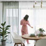 Wohnzimmer Gardinen Ideen Fr Frischen Wind Ikea Deutschland Für Küche Tapeten Bad Renovieren Die Schlafzimmer Fenster Scheibengardinen Wohnzimmer Kreative Gardinen Ideen