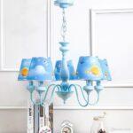Kronleuchter Oovov Blue Iron Giraffe Schlafzimmer Regal Weiß Regale Sofa Kinderzimmer Kronleuchter Kinderzimmer