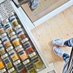 Aufbewahrung Küche Wohnzimmer Meine Diy Vorratsglser Und Gewrz Aufbewahrung In Der Neuen Ikea Tapeten Für Die Küche Laminat Gardinen Buche Kaufen Tipps L Mit Elektrogeräten Sockelblende
