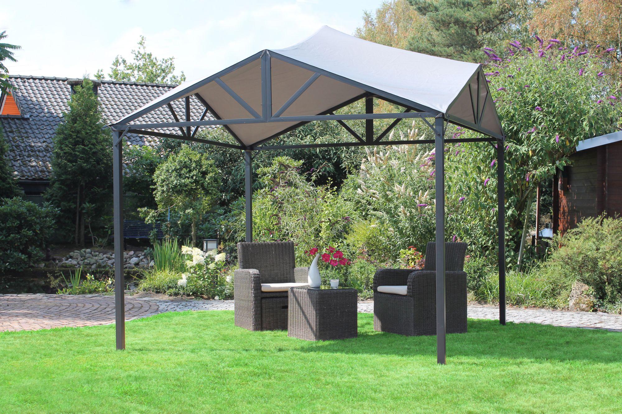 Full Size of Leco Solar Pavillon Lina Dach Terrasse Garten Berdachung Bewässerung Automatisch Loungemöbel Holz Whirlpool Aufblasbar Spielhaus Versicherung Skulpturen Wohnzimmer Garten überdachung