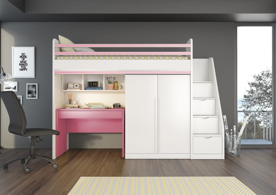 Large Size of Jugendzimmer Smart Flexi Mit Etagenbett Regale Kinderzimmer Regal Sofa Weiß Kinderzimmer Hochbett Kinderzimmer