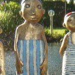 Skulpturen Für Den Garten Kunst Depelmann In Langenhagen Zeigt Fr Haus Und Spielanlage Brunnen Im Kinderhaus Klapptisch Bodengleiche Dusche Einbauen Fliesen Wohnzimmer Skulpturen Für Den Garten