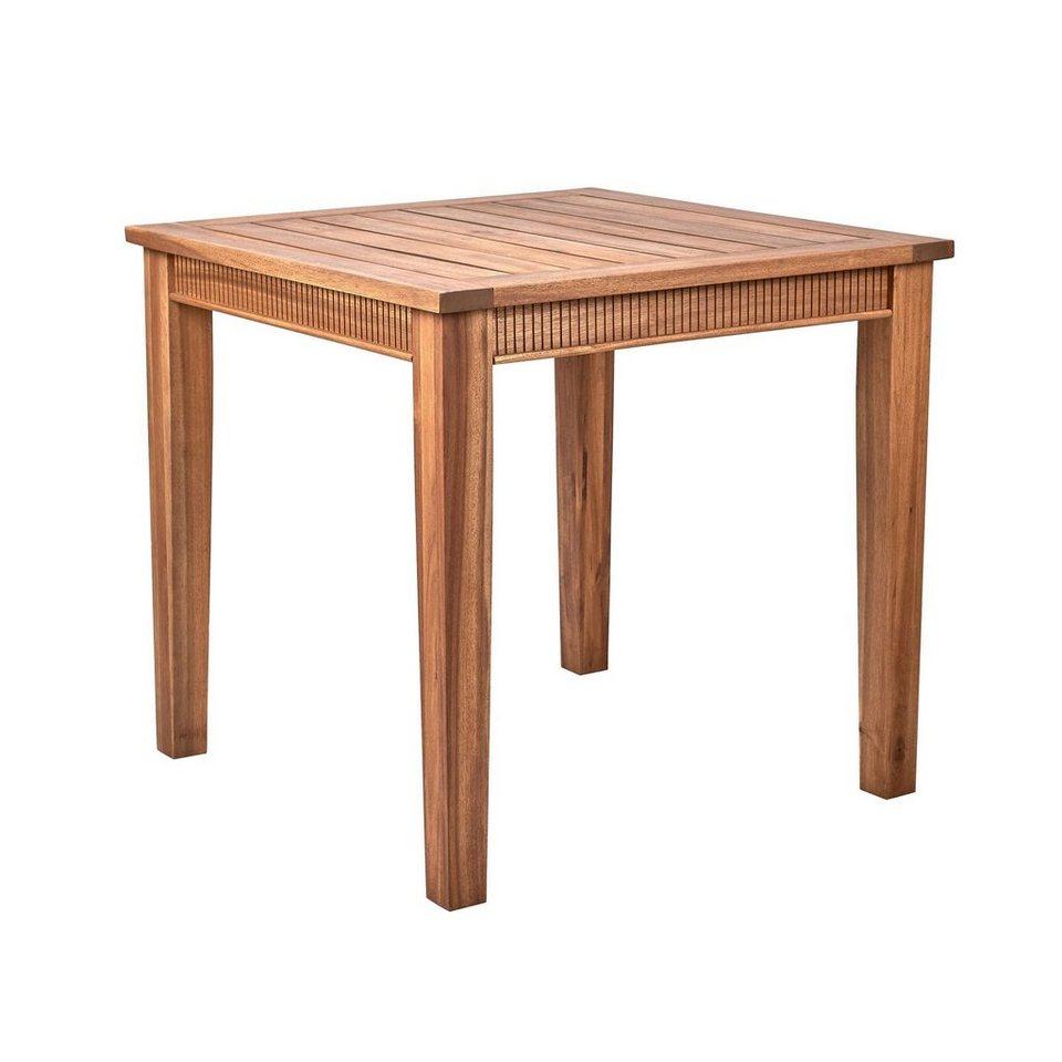 Full Size of Esstisch 80x80 Butlers Acacia Springs Tisch Cm Esstische Massivholz Shabby Pendelleuchte Rund Ausziehbar Eiche Kleine Sofa Klein Massiv Venjakob Quadratisch Esstische Esstisch 80x80